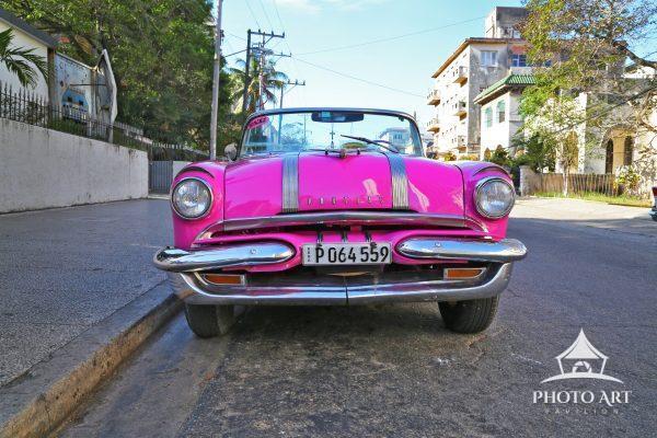 Hot pink Pontiac