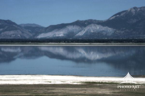 Dreamy view of Salt Lake, in Salt Lake City, Utah